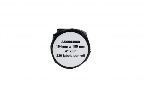 Compatible Dymo S0904980 Extra Large 4XL Paper Shipping Labels