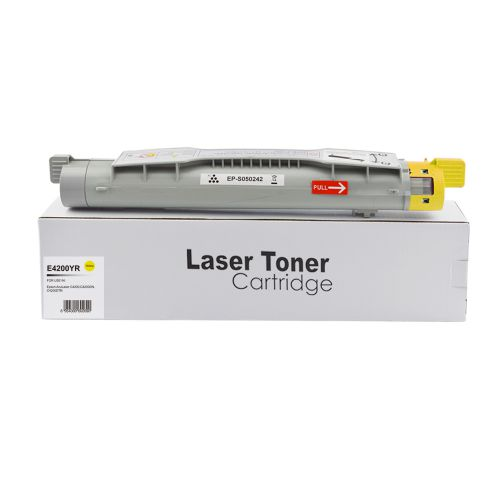 Remanufactured Epson S050242 Yellow Toner
