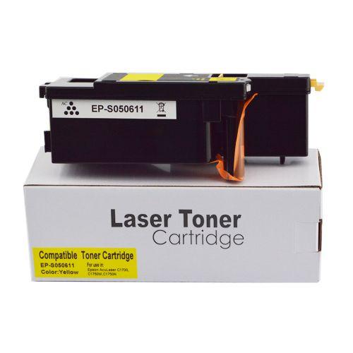 Compatible Epson S050611 Yellow Hi Cap Toner