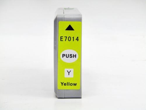 Compatible Epson T7014 Yellow Extra Hi Cap T70144010 Inkjet