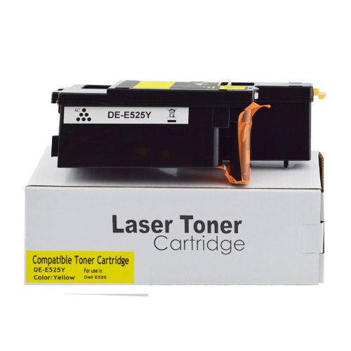 Remanufactured Dell 593-BBLV Yellow also for 593-BBJW Toner