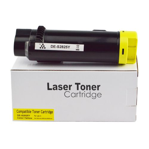 Compatible Dell 593-BBSE Yellow Hi Cap Toner