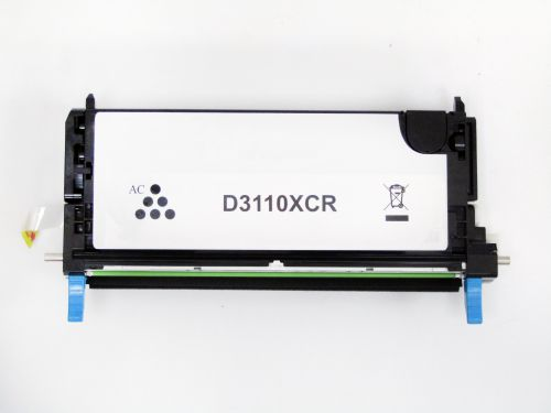 Remanufactured Dell 593-10171 Cyan Hi Cap DLPF029 Toner