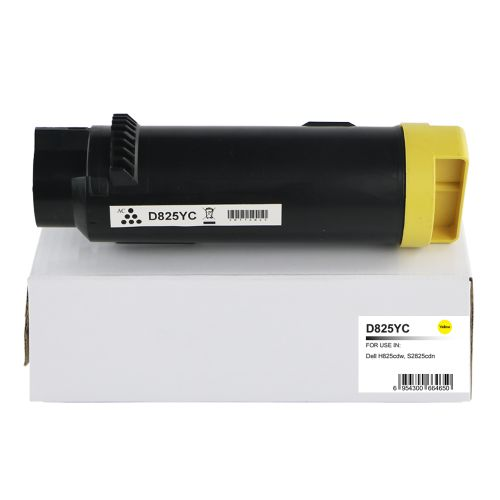 Compatible Dell 593-BBRW Yellow Extra Hi Cap Toner