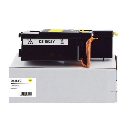 Compatible Dell 593-BBLV Yellow also for 593-BBJW Toner