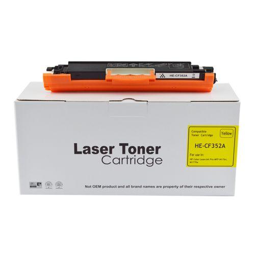 Compatible HP CF352A Yellow 130A Toner