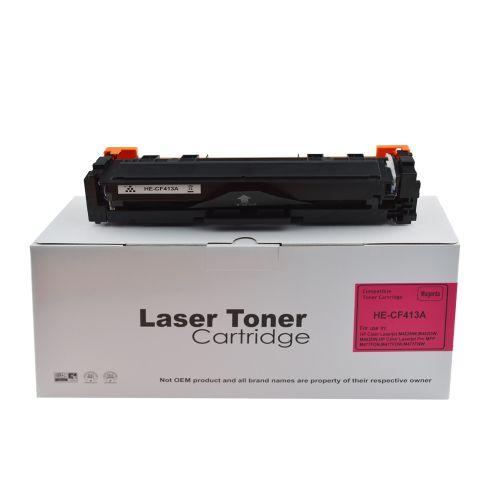 Compatible HP CF413A Magenta 413A Toner