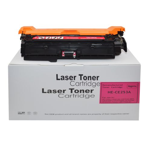 Remanufactured HP CE253A Magenta 504A also for Canon 723M Toner