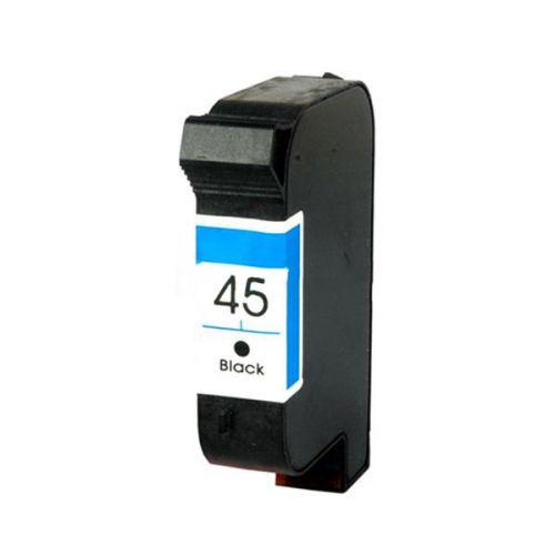 Remanufactured HP 51645A Black 45 Inkjet