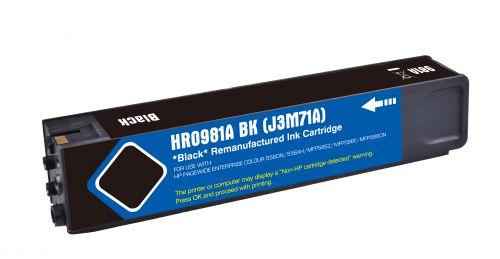 Remanufactured HP 981A Black J3M71A Inkjet