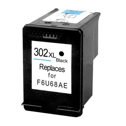 Remanufactured HP 302XL Black Hi Cap F6U68AE Inkjet