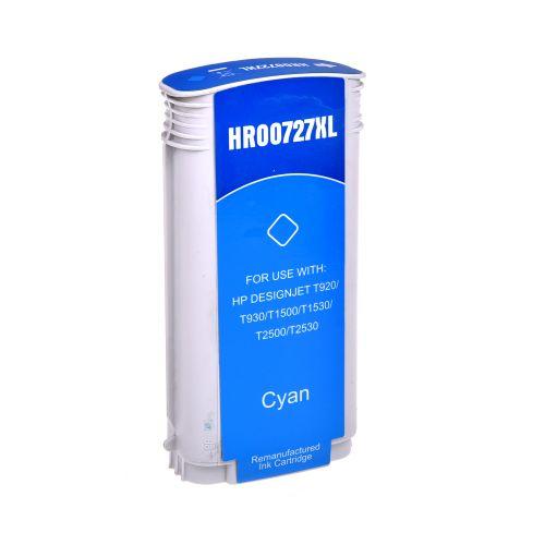 Remanufactured HP 727XLC Cyan Hi Cap B3P19A Inkjet