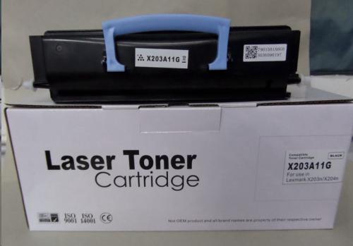 Compatible Lexmark X203 X203A11G Toner