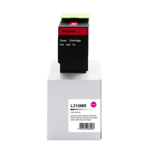 Remanufactured Lexmark CS310M Magenta 70C2HM0 702HM also for 700H3 Toner