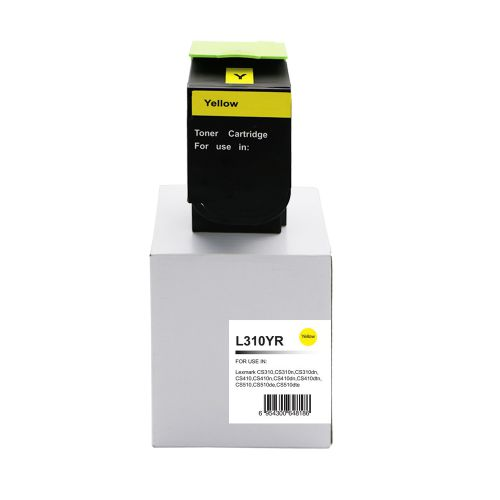 Remanufactured Lexmark CS310Y Yellow 70C2HY0 702HY also for 700H4 Toner