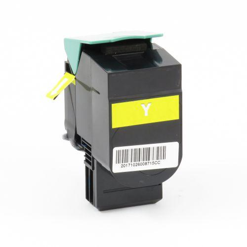 Remanufactured Lexmark CS510Y Yellow Extra Hi Cap 70C0X40 Toner