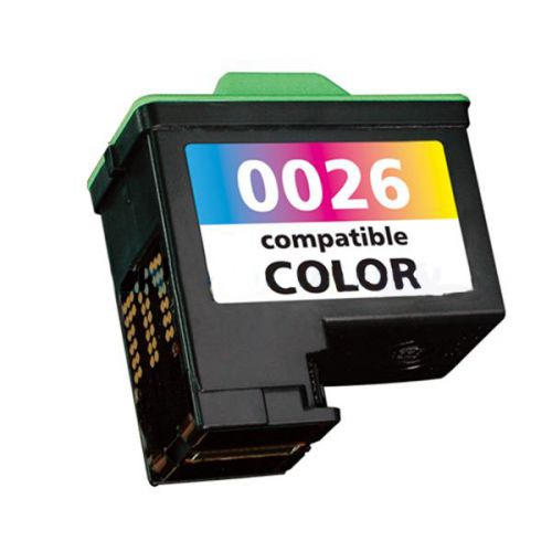 Remanufactured Lexmark 27 Colour 10N0027 10N0026 Inkjet