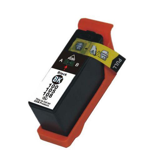 Compatible Lexmark 100XLBK Black 014N1068E Inkjet