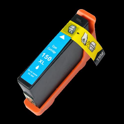 Compatible Lexmark 150XLC Cyan Hi Cap 14N1615E Inkjet