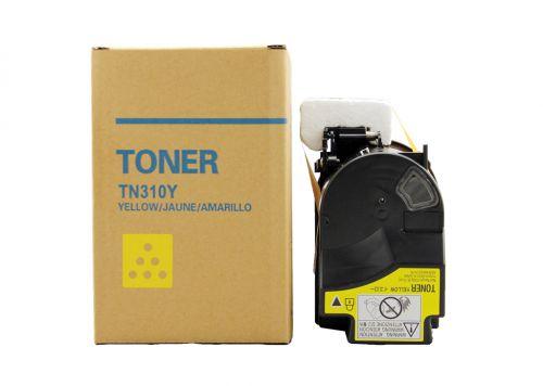 Compatible Minolta TN310Y Yellow 4053-501 KM-C2230 TK622Y Toner