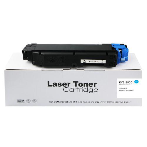 Compatible Kyocera TK5135C Cyan Toner