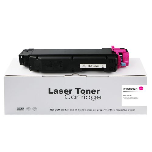 Compatible Kyocera TK5135M Magenta Toner