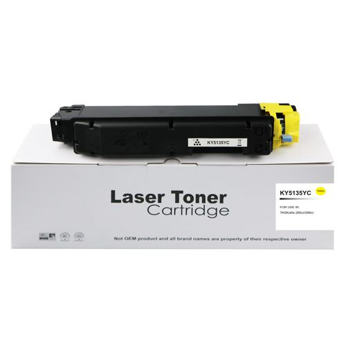Compatible Kyocera TK5135Y Yellow Toner
