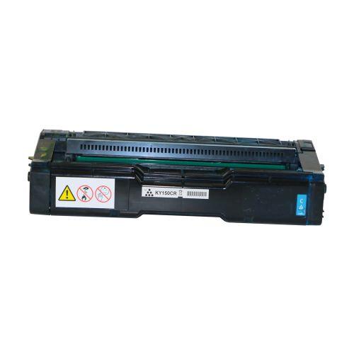 Remanufactured Kyocera TK150C Cyan Toner