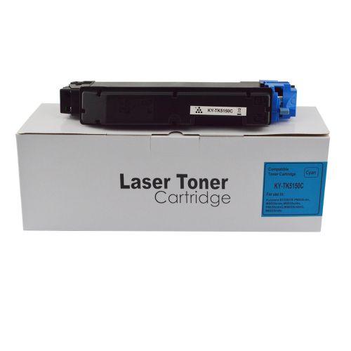 Compatible Kyocera TK5150C Cyan Toner