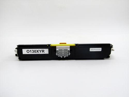 Remanufactured OKI C110Y Yellow 44250721 Toner