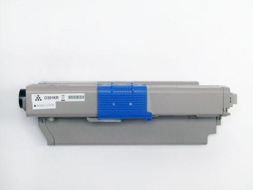 Compatible OKI C321BK C301BK Black 44973536 Toner