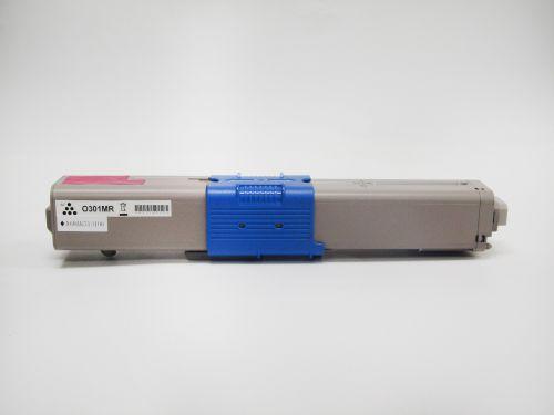 Compatible OKI C321M C301M Magenta 44973534 Toner