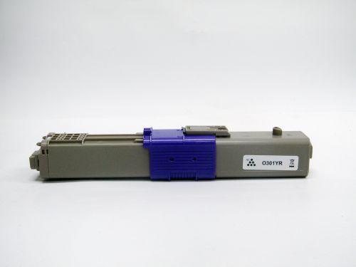 Compatible OKI C321Y C301Y Yellow 44973533 Toner