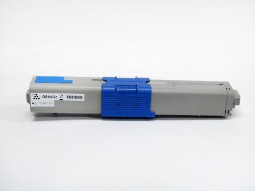 Remanufactured OKI C510C Cyan 44469724 Toner