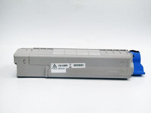 Remanufactured OKI C610M Magenta 44315306 Toner