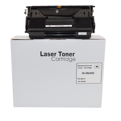Remanufactured OKI B6500 Hi Cap 9004461 Toner