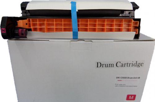 Remanufactured OKI C5600M Magenta 43381706 43881722 Drum