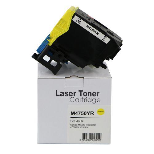 Remanufactured Konica Minolta A0X5251 Yellow Toner