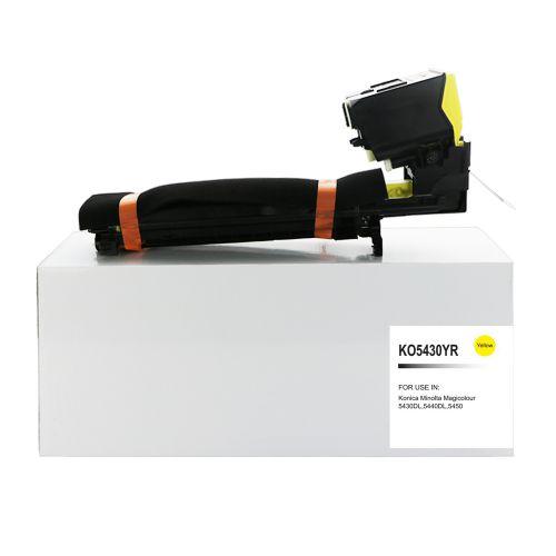Remanufactured Konica Minolta 1710582-002 Yellow Toner