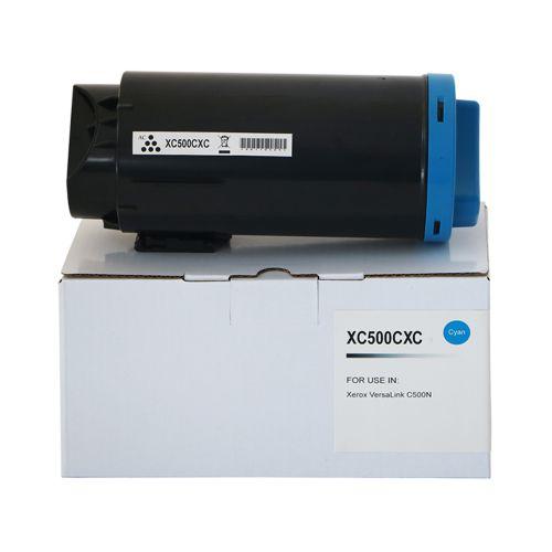 Compatible Xerox C500HCC Cyan Hi Cap 106R03870 Toner