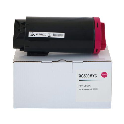 Compatible Xerox C500HCM Magenta Hi Cap 106R03871 Toner