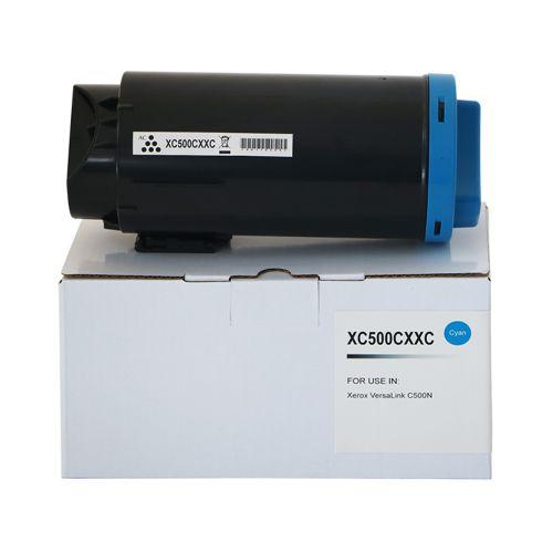 Compatible Xerox C500EHC Cyan Extra Hi Cap 106R03873 Toner