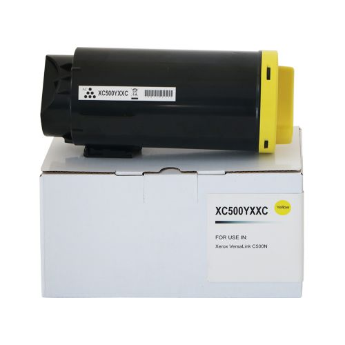 Compatible Xerox C500EHY Yellow Extra Hi Cap 106R03875 Toner
