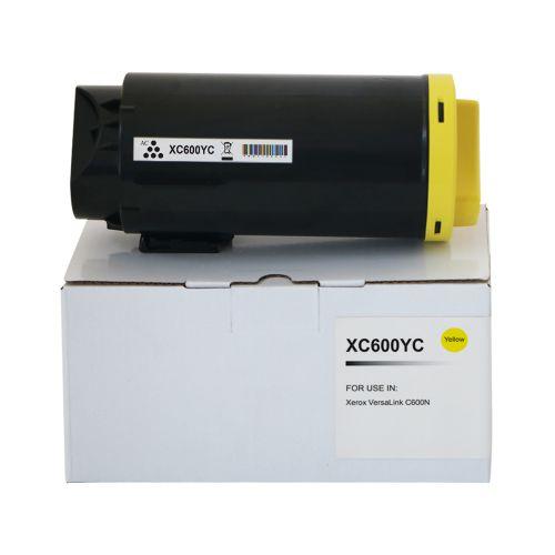 Compatible Xerox C600Y Yellow 106R03898 Toner