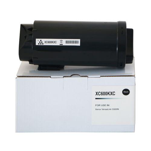 Compatible Xerox C600HCBK Black Hi Cap 106R03907 Toner