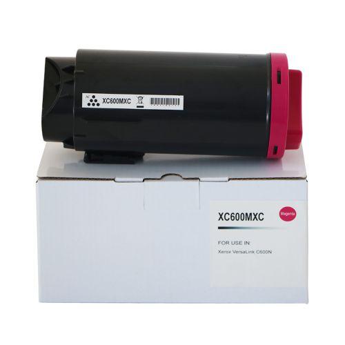 Compatible Xerox C600HCM Magenta Hi Cap 106R03905 Toner