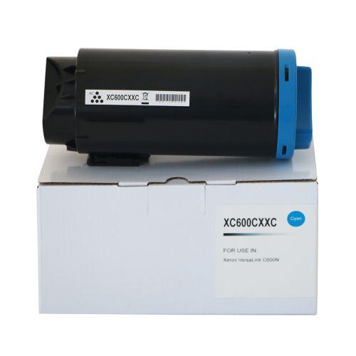 Compatible Xerox C600EHC Cyan Extra Hi Cap 106R03920 Toner
