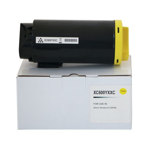 Compatible Xerox C600EHY Yellow Extra Hi Cap 106R03922 Toner