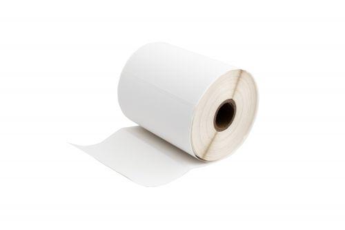 Compatible Zebra ZA4X3-500 White Shipping Paper Labels Roll