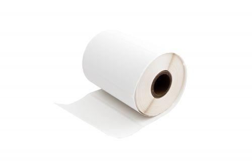 Compatible Zebra ZA4X2-500 White Standard Shipping Paper Labels Roll